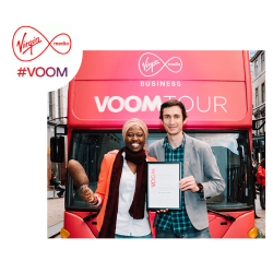 Virgin Media Voom Tour Winner!