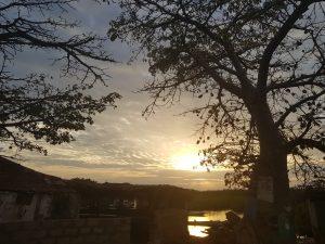 Baobab Water Sunset