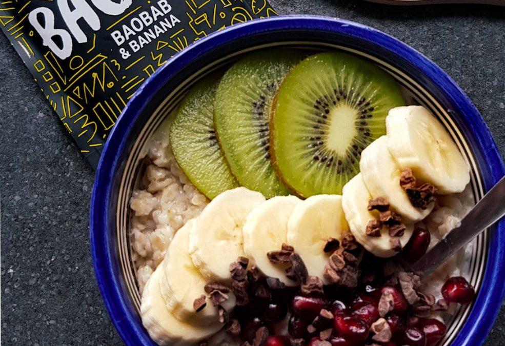 Baobab Banana Porridge