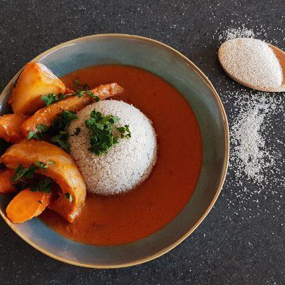 Gambian Domoda - Peanut Butter Stew