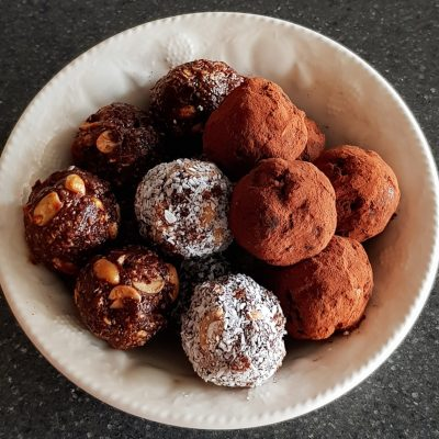 Baobab & Chocolate Protein Balls