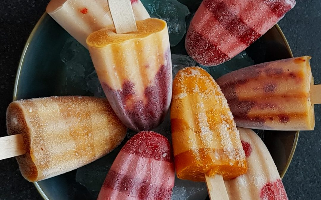 Baobab Fruit Ice popsicles
