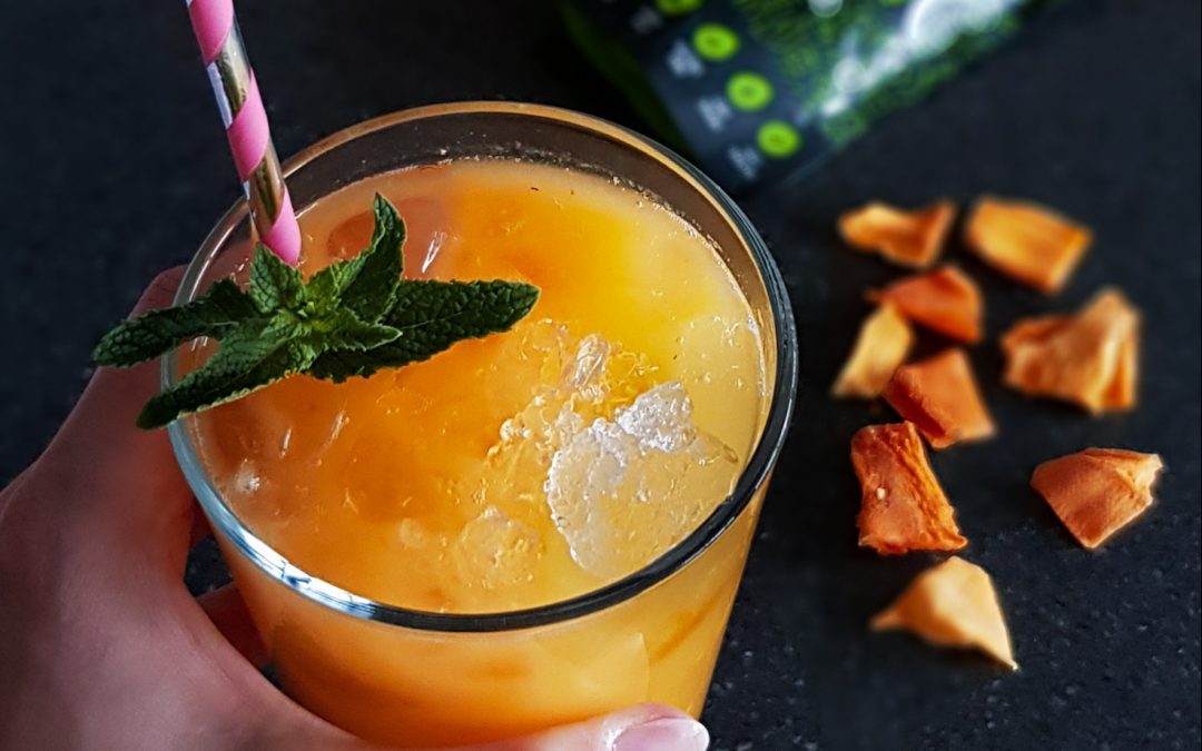 Refreshing Baobab Mango Drink